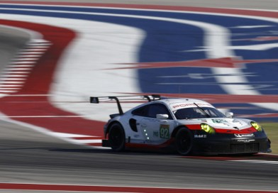 Second place for the 911 RSR at sweltering Texas race