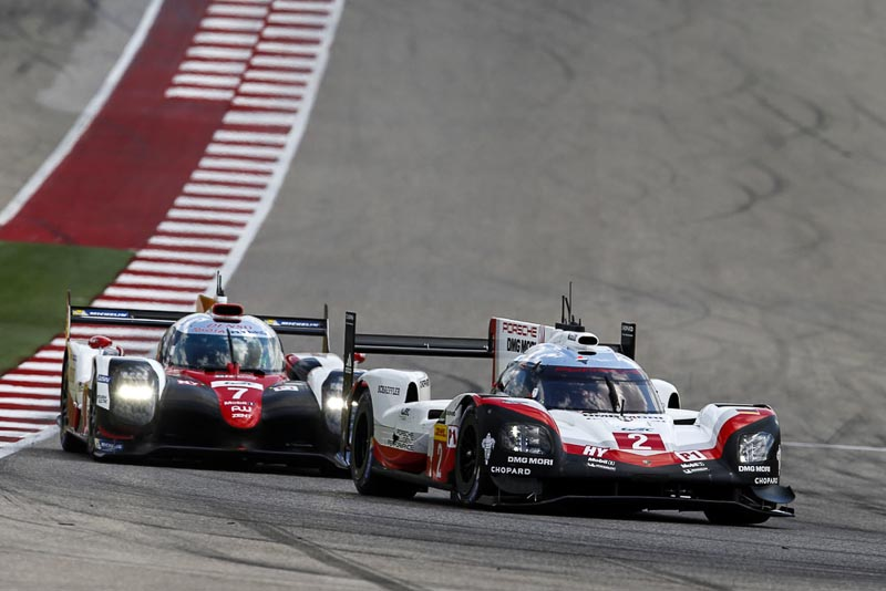 FIA WEC Austin Porsche 919 Hybrid, Porsche LMP Team: Earl Bamber, Timo Bernhard, Brendon Hartley