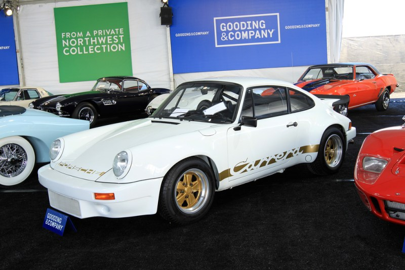 Porsche 911 Carrera RS 3.0 2014 Pebble Beach Auction