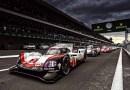 FIA WEC Mexico Porsche 919 Hybrid, Porsche LMP Team: Earl Bamber, Timo Bernhard, Brendon Hartley 2017/09/02
