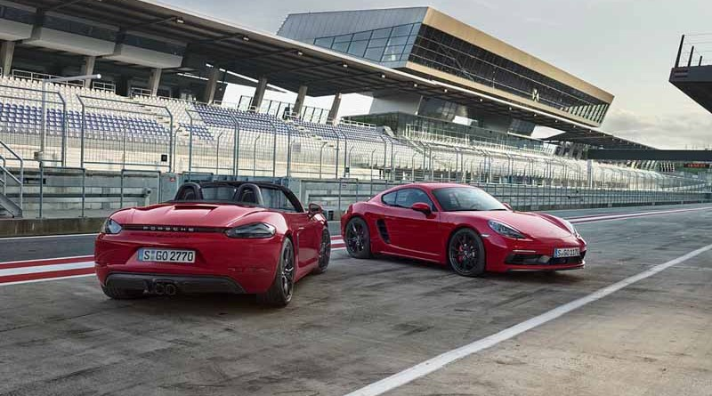 new Porsche 718 GTS models - Porsche 718 Boxster GTS and Porsche 718 Cayman GTS