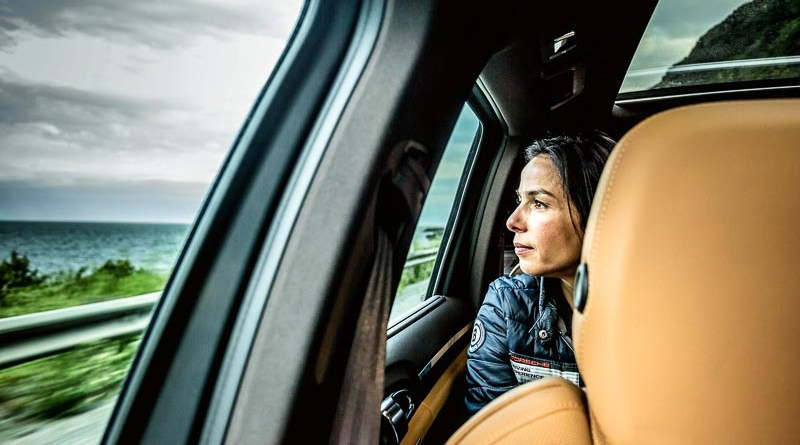 Catja Wiedenmann, director of the Porsche Driving Experience, 2017, Porsche AG Porsche World Expedition