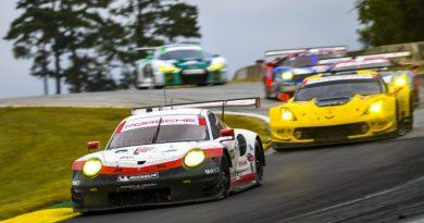 Porsche 911 RSR, Porsche GT Team (911) Patrick Pilet, Dirk Werner, Nick Tandy Porsche North America Endurance Cup Braselton