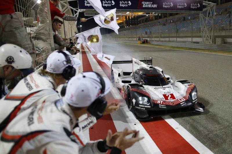Last race of the Porsche 919 LMP1 FIA WEC