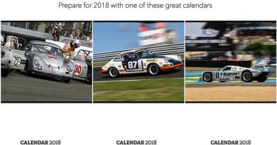 Porsche and motorsport Calendars 2018
