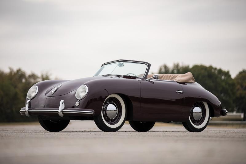 1953 Porsche 356 1500 Cabriolet Rasy Ran ©2017 Courtesy of RM Sotheby's