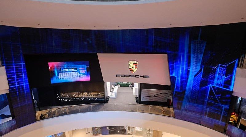 Porsche opens its 100th sales site in China