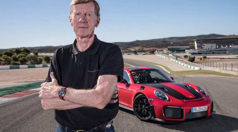 Walter Röhrl celebrates 25th anniversary at Porsche :