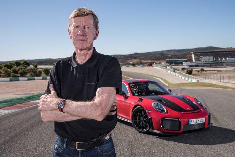 Walter Röhrl celebrates 25th anniversary at Porsche :