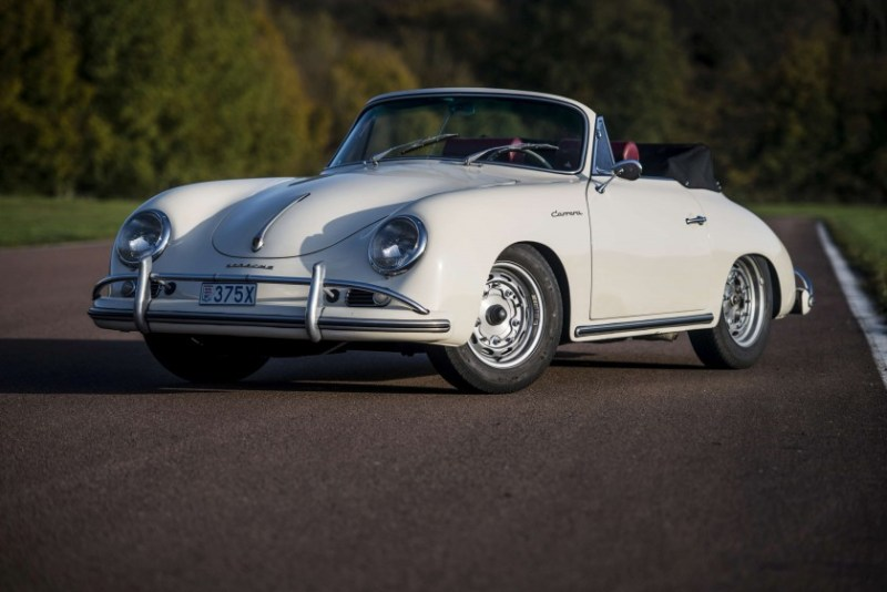 1959 Porsche 356 A Carrera 1600 GS cabriolet - Copyright Remi Dargegen