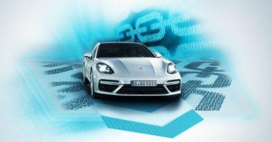 Porsche introduces blockchain into cars
