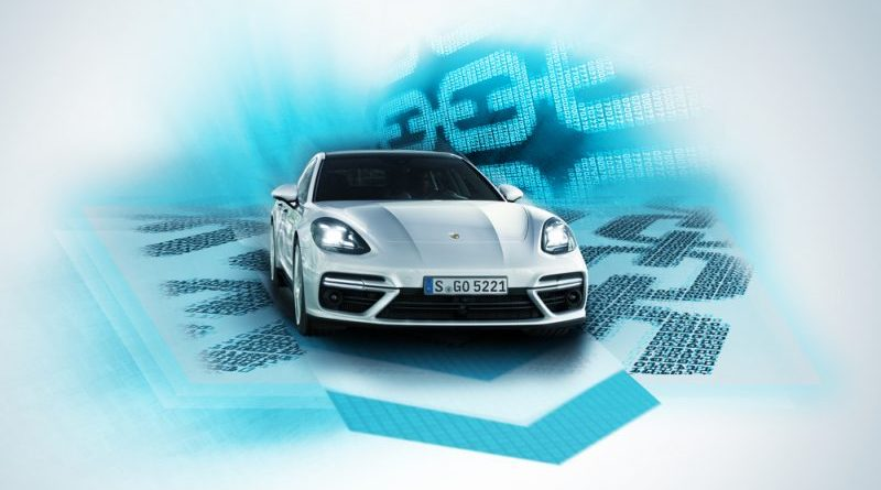 Porsche introduces blockchain into cars