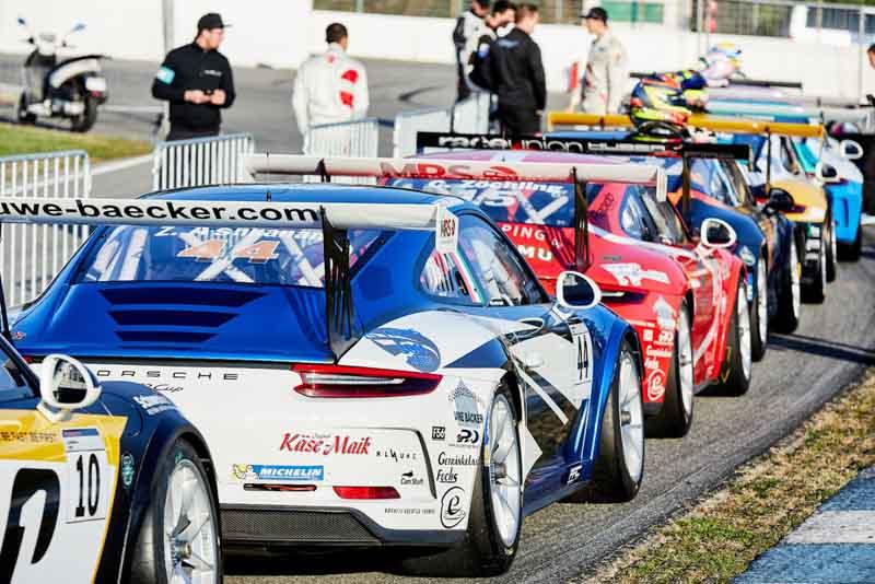 Porsche Carrera Cup Deutschland Hockenheimring 2017