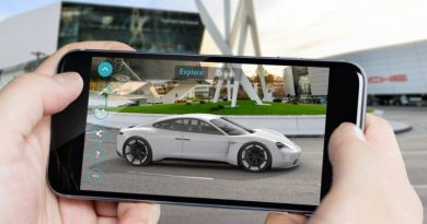 Porsche Mission E Augmented Reality App