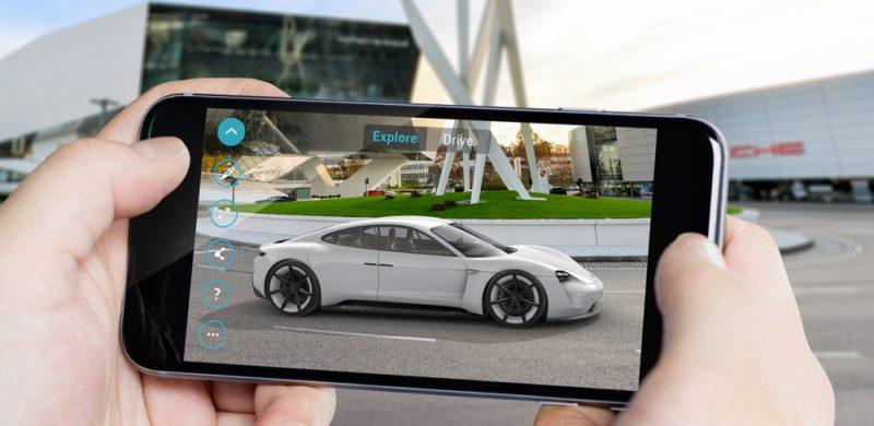 Porsche Mission E Augmented Reality App