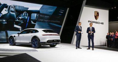 Presentation of the Mission E Cross Turismo at Geneva Motor Show