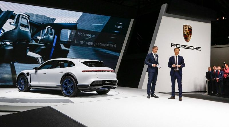 Presentation of the Mission E Cross Turismo at Geneva Motor Show