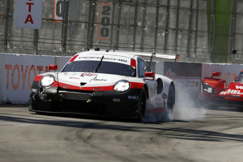 IMSA Weathertech Long Beach Porsche 911 RSR (911), Porsche GT Team: Patrick Pilet, Nick Tandy