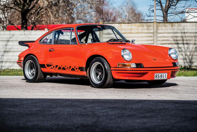 1973 Porsche 911 Carrera RS 2.7 Lightweight Remi Dargegen ©2018 Courtesy of RM Sotheby's