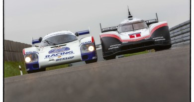 Demo Run Porsche 956 C and Porsche 919 Hybrid Evo with Timo Bernhard and Hans-Joachim Stuck