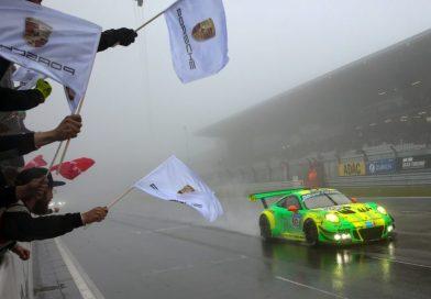 Porsche 911 GT3 R wins the long distance thriller in the Eifel
