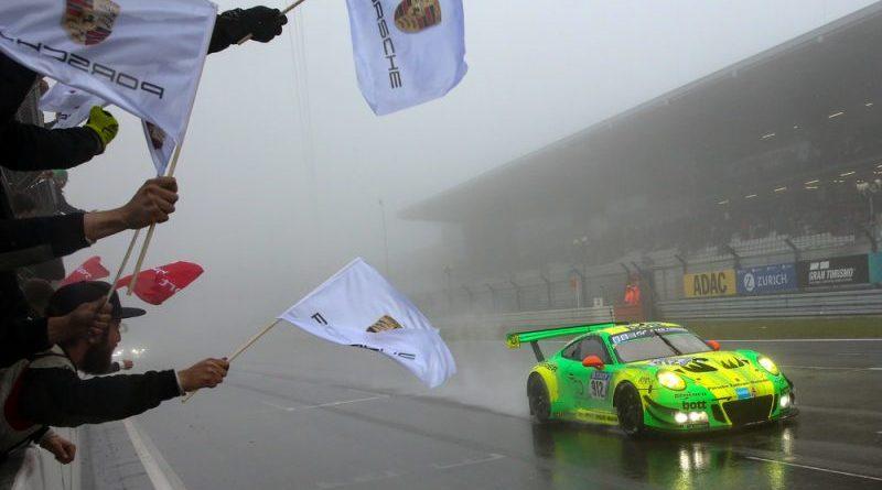 Manthey-Racing, Porsche 911 GT3 R (912), Richard Lietz (A), Patrick Pilet (F), Frederic Makowiecki (F), Nick Tandy (GB), Nürburgring 2018