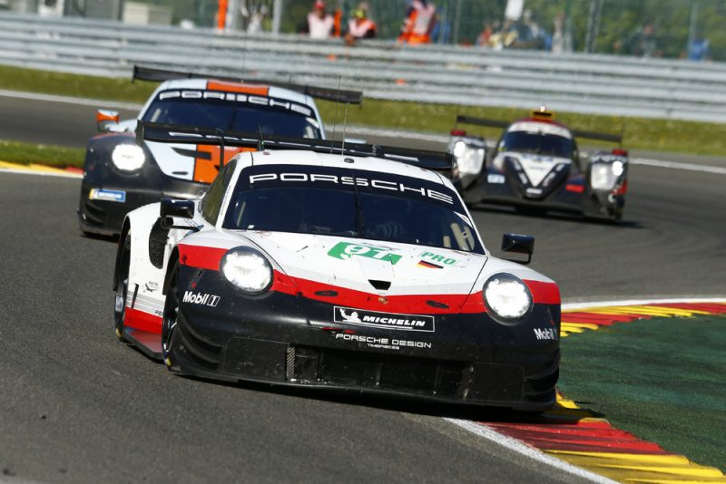 Porsche 911 RSR, Porsche GT Team (91), Gianmaria Bruni (I), Richard Lietz (A), Spa-Francorchamps 2018