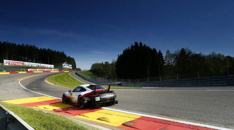 Porsche 911 RSR, Porsche GT Team (91), Gianmaria Bruni (I), Richard Lietz (A), Spa-Francorchamps 2018