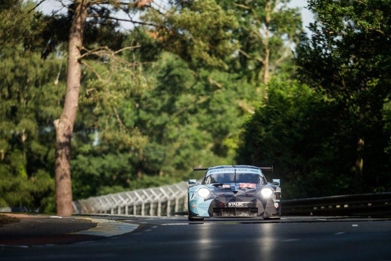 Porsche 911 RSR, Dempsey Proton Racing (77), Julien Andlauer (F), Matt Campbell (AUS), Christian Ried (D), Le Mans 2018