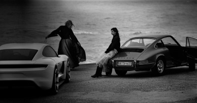 Peter Lindbergh photographs Porsche models