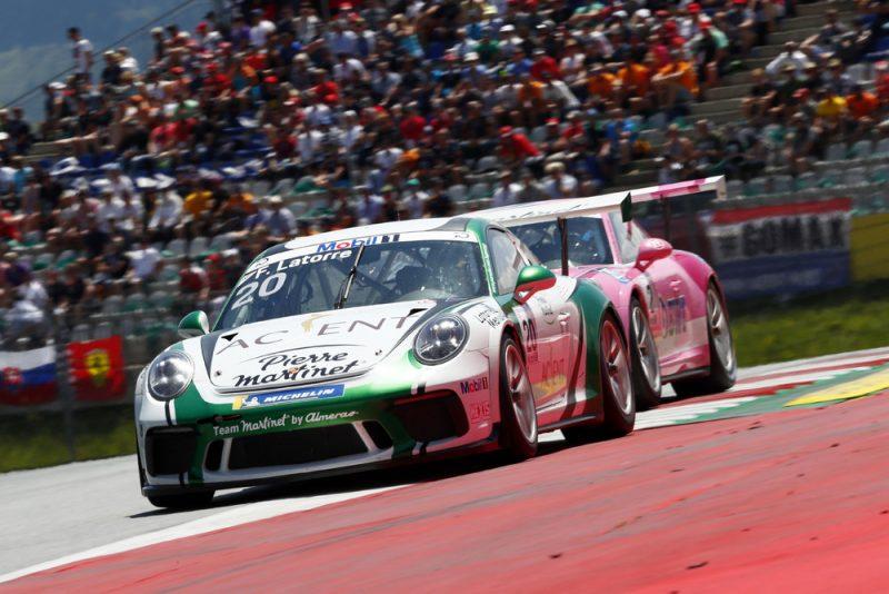 Porsche 911 GT3 Cup, Florian Latorre (F), Porsche Mobil 1 Supercup, Spielberg 2018