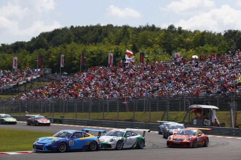 Porsche 911 GT3 Cup, Larry ten Voorde (NL), Florian Latorre (F), Porsche Mobil 1 Supercup, Budapest 2018