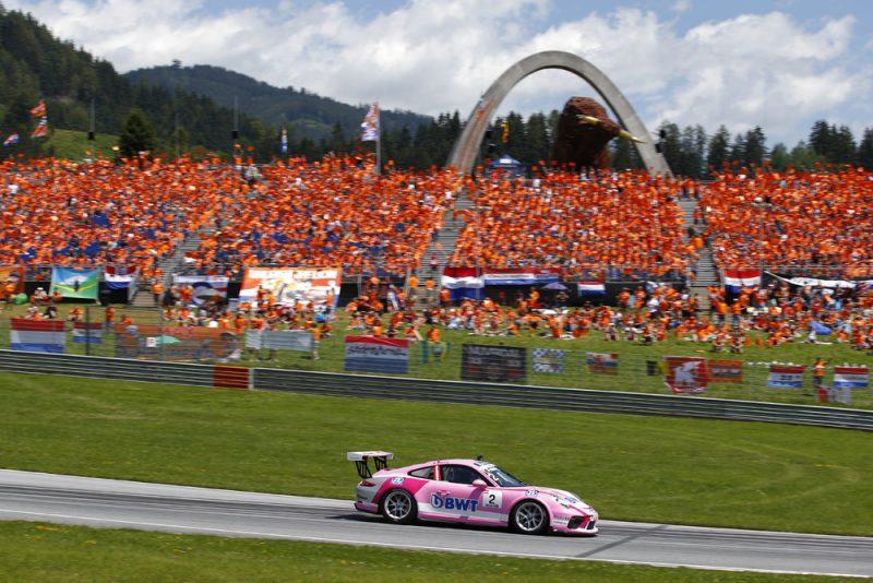 Porsche 911 GT3 Cup, Thomas Preining (A), Porsche Mobil 1 Supercup, Spielberg 2018