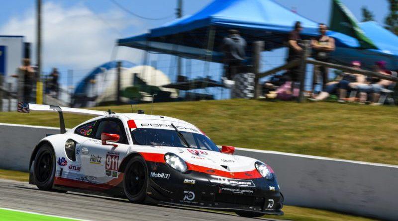 Porsche 911 RSR (911), Porsche GT Team Patrick Pilet, Nick Tandy