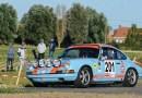 Porsches at Ypres Historic Rally 2018