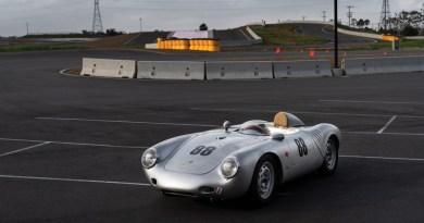 1957 Porsche 550A Spyder Karissa Hosek ©2018 Courtesy of RM Sotheby's