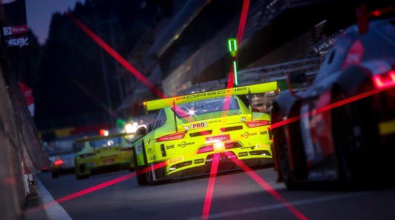 Manthey-Racing, Porsche 911 GT3 R (911), Romain Dumas (F), Frederic Makowiecki (F), Dirk Werner (D), 2018