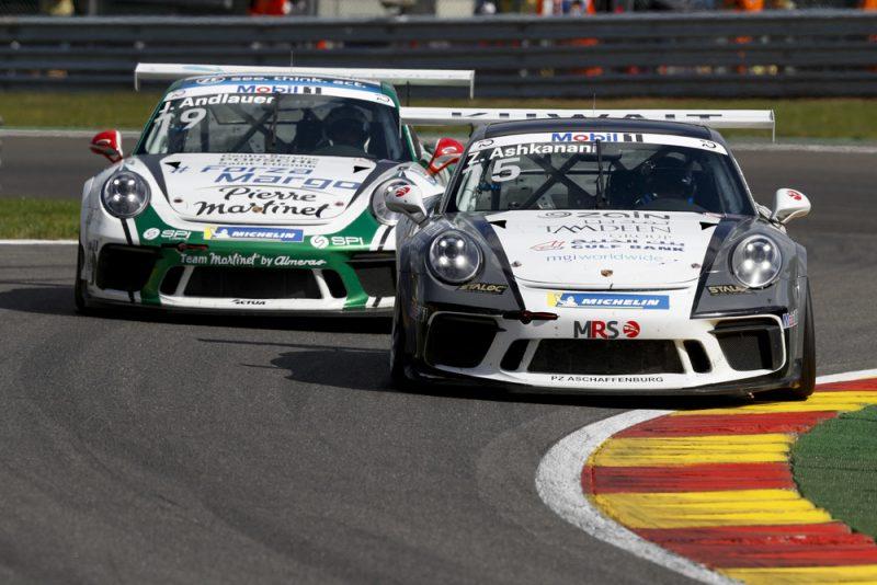 Porsche 911 GT3 Cup, Zaid Ashkanani (KWT), Julien Andlauer (F), Porsche Mobil 1 Supercup, Spa-Francorchamps 2018