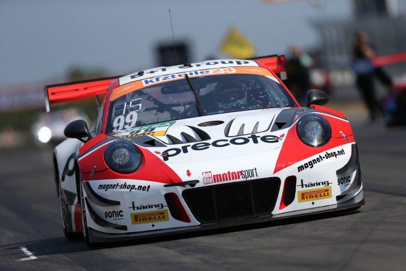 Porsche 911 GT3 R, Precote Herberth Motorsport, Robert Renauer (D), Mathieu Jaminet (F), Nürburgring 2018