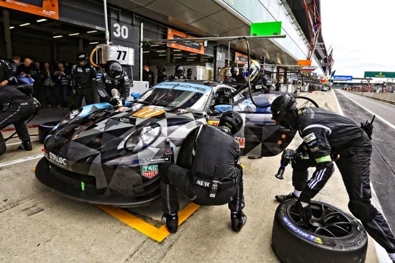 Porsche 911 RSR, Dempsey Proton Racing (77), Julien Andlauer (F), Matt Campbell (AUS), Christian Ried (D),
