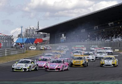 Jaap van Lagen scores first win of the season at the Nürburgring