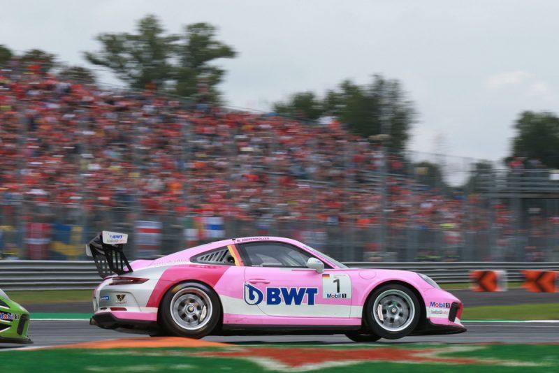 Porsche 911 GT3 Cup, Michael Ammermüller (D), Porsche Mobil 1 Supercup, Monza 2018