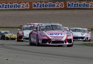 Seventh win of the season: Thomas Preining triumphs on the Sachsenring in the Porsche Carrera Cup Deutschland
