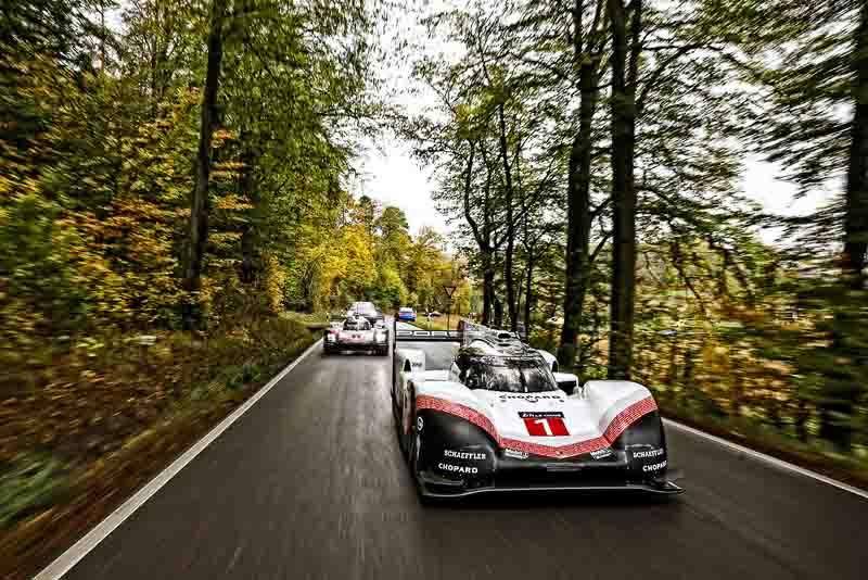 Final Drive Porsche 919 Hybrid Evo (in front), 919 Hybrid (2017)