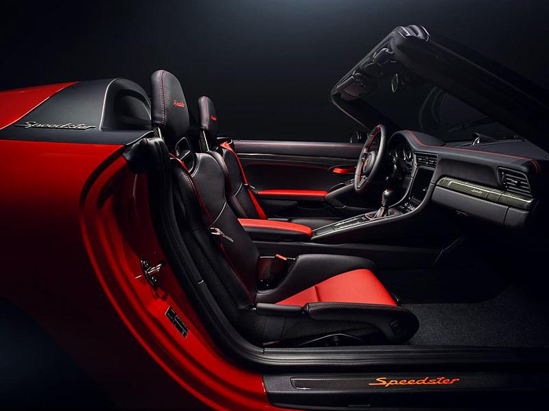 Porsche Speedster 2018 Concept - interior