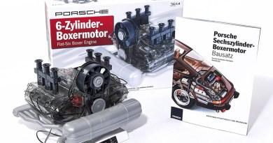 franzis porsche 911 engine model