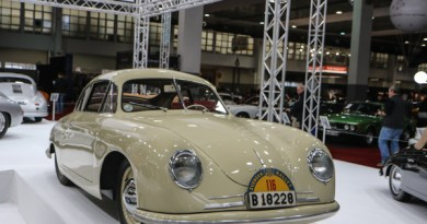 Interclassics Brussels celebrates 70 years Porsche 356