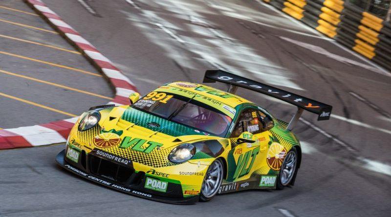 Porsche 911 GT3 R, Craft Bamboo Racing (55), Darryl O'Young (HKG)