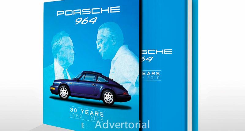 Porsche 964 – 30 YEARS 1988 – 2018 in slipcase Berlin Motor Books