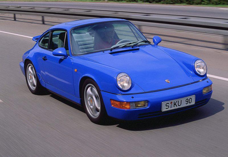 1988, 911 Carrera 2/4 Coupé, Typ 964, 3,6 Liter,